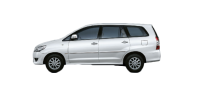 Toyota Innova for rent in Pune
